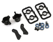 Xray T4 2020 Aluminum Steering Blocks w/Graphite Extension Plates | product-also-purchased