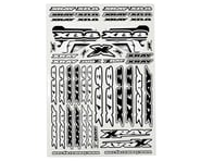 Xray XB8 Sticker Sheet (White)   product-related
