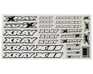 Xray X12 Sticker Sheet (White)   product-related