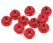Yeah Racing 4mm Aluminum Serrated Lock Nut (10) (Red)   product-also-purchased