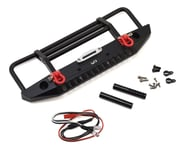 Yeah Racing Aluminum Front Bumper w/LED Light (Black) | product-related