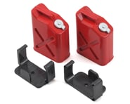 """Yeah Racing 1/10 Crawler Scale """"Jerry Can"""" Accessory Set (Fuel Cans) (Red) 