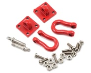 Yeah Racing 1/10 Crawler Scale Heavy Duty Shackle w/Mounting Bracket (Red) (2) | product-related