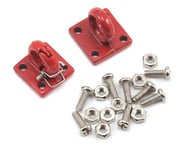 Yeah Racing Four Bolt Tow Ring (Red) (2) | product-also-purchased