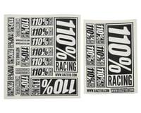110% Racing Logo Sticker Pack (2)