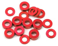 175RC M3 Ball Stud Washers (16) (Red) (Kyosho Ultima RB6.6)