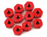 175RC Mini-T 2.0 Aluminum Nut Kit (Red) (10)