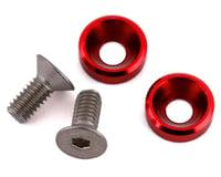 175RC Mini T/B High Load Motor Screws (Red) (2)