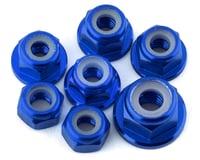 175RC Team Associated SR10 Aluminum Nut Kit (Blue) (7)