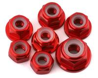 175RC Team Associated SR10 Aluminum Nut Kit (Red) (7)