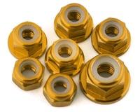 175RC Team Associated SR10 Aluminum Nut Kit (Gold) (7)