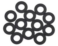 1UP Racing 3x6x0.25mm Precision Aluminum Shims (Black) (12) (XRAY X10 2016)