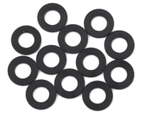 1UP Racing Precision Aluminum Shims (Black) (12) (5mm) (XRAY X10 2016)