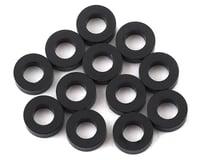 1UP Racing Precision Aluminum Shims (Black) (12) (2mm) (Yokomo YR-X12)