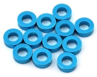 1UP Racing Precision Aluminum Shims (Blue) (12) (2mm) (Yokomo YR-X12)