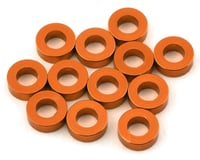 1UP Racing Precision Aluminum Shims (Orange) (12) (2mm) (HB TCXX)