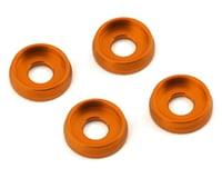 AMR 4mm Screw Washer (Orange) (4)