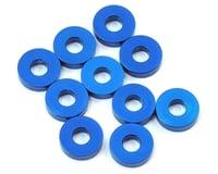 Team Associated RC12 R6 7.8x2.0mm Aluminum Bulkhead Washer (Blue) (10)