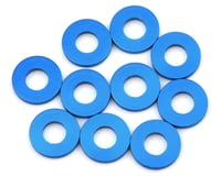 Team Associated RC8.2 RS 7.8x3.5x1.0mm Aluminum Hub Spacer Washer (Blue) (10)