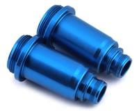 Team Associated SR10 Aluminum Front Shock Bodies (Blue)