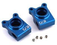 Team Associated RC10 B74.1D RC10B74.1 Factory Aluminum Rear Hubs (Blue)