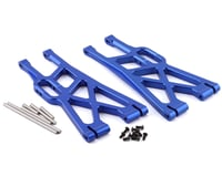 Atomik RC X-Maxx Alloy Front/Rear Lower Suspension Arms (Blue)