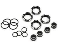 Avid RC B5/B6/B7 Shock Cap & Collar Kit (Black)