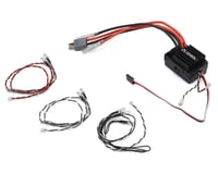 Axial RR10 Bomber 2.0 AE-5L Waterproof 3S Brushed Crawler ESC w/LED Port & Lights