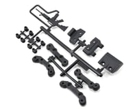 Axial EXO Front/Rear Chassis Guard & Toe Block Insert Set