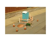 Bachmann SceneScapes Building Site Accessories (O Scale)