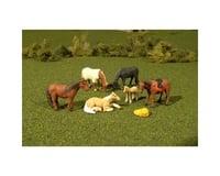 Bachmann SceneScapes Horses (6) (O Scale)