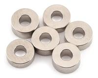 """Team Brood B-Mag 2.5mm/3.0mm/3.5mm Magnesium """"C"""" Washer Set (6) (Yokomo YR-X12)"""