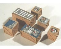 Chooch HO Open Crates of Machinery (6)