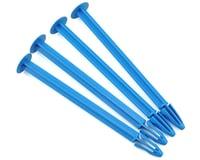 DE Racing 1/8 Buggy Tire Spikes (Blue) (4)