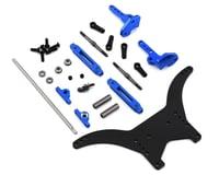 "DragRace Concepts Team Associated DR10 Anti Roll Bar ""ARB"" System (Blue)"