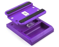 DuraTrax Pit Tech Deluxe Car Stand (Purple)