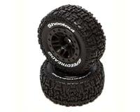 DuraTrax SpeedTreads Shootout Short Course Rear Tires w/12mm Hex (Black) (2) (Traxxas Slash 4x4 Ultimate)