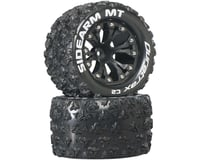 "DuraTrax Sidearm MT 2.8"" 2WD Mounted Rear C2 Tires, Black (2)"