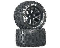 "DuraTrax Sixpack MT 2.8"" Mounted Nitro Rear Truck Tires (Black) (2) (1/2 Offset) (Traxxas Jato)"