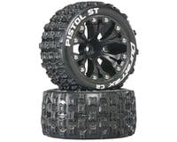 "DuraTrax Pistol ST 2.8"" Mounted 1/2"" Offset C2 Tires, Black (2)"