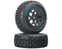 DuraTrax Lockup 1/10 Pre-Mounted SC Tires (2) (C2) (Losi TEN-SCTE Ten SCTE 4x4)