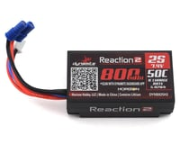 Dynamite Reaction 2S 50C Hard Case LiPo Battery w/EC2 Connector (7.4V/800mAh)