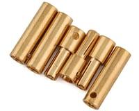 Dynamite 3.5mm Gold Bullet Connectors (3 Male/3 Female)
