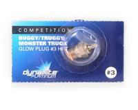 Dynamite Platinum Standard Glow Plug (#3 - Hot) (Losi TEN-SCT Nitro)
