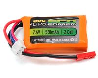 "EcoPower ""Electron"" 2S LiPo 20C Battery (7.4V/530mAh)"