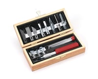 Woodworking Set, Wooden Box, Carded