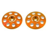 Exotek 22mm 1/8 XL Aluminum Wing Buttons (2) (Orange) (Serpent S811 Cobra)