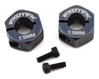 Exotek EB410 Aluminium Wheel Hex (2) (+7.5mm Wide) (Tekno RC ET410)