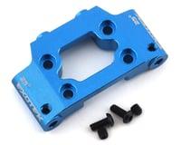 Exotek DR10 Aluminum HD Front Bulkhead (Blue)