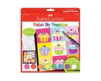 Faber-Castell - Paint by Number Cupcake Pop-Art Kit